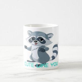"cute like you ""racoon"" coffee mugs"