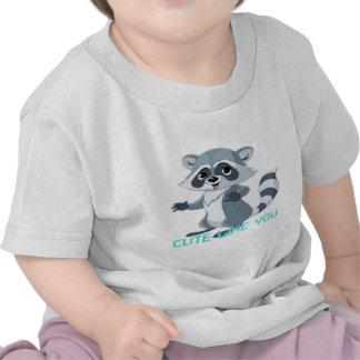 """cute like you """"racoon"""" t shirt"""