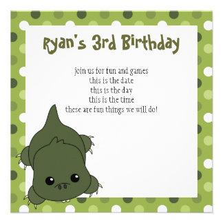 Cute Lil' Alligator Personalized Invite