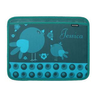 Cute lil Birdie MacBook Air Sleeve Blue