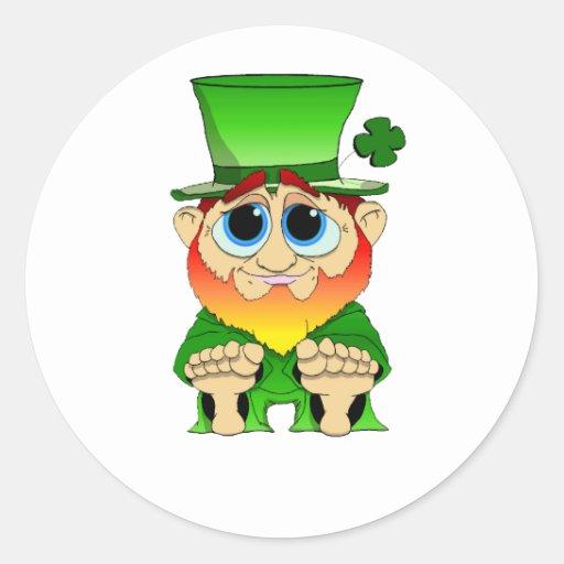 Cute Lil Blarney Classic Round Sticker