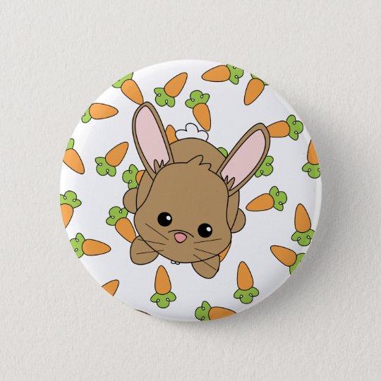Cute Lil' Bunny Pinback Button