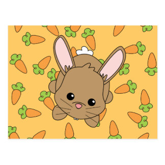 Cute Lil' Bunny Postcard
