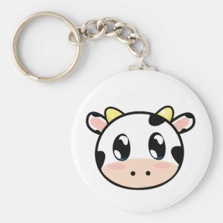 Cute Lil' Cow Keychain