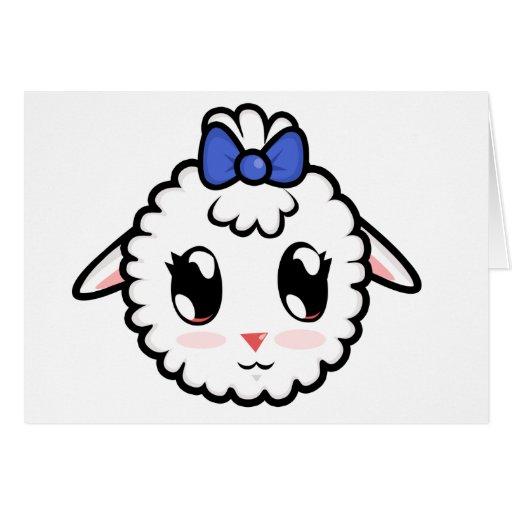 Cute Lil' Lamb Card