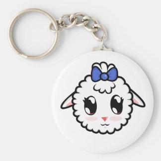 Cute Lil' Lamb Keychain