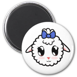 Cute Lil' Lamb Magnet