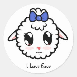 Cute Lil' Lamb Sticker