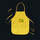 "Cute Lil&#39; Lemon Kids&#39; Apron<br><div class=""desc"">Cute lil&#39; lemon isn&#39;t sour at all. He looks rather sweet with this glowing smile.</div>"