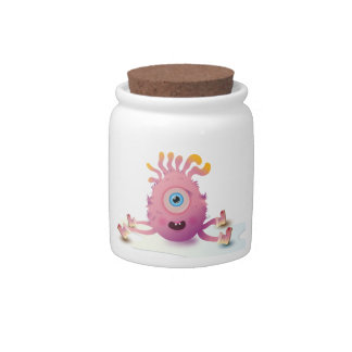 Cute Lil monster Candy Dish