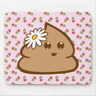 Cute Lil Poo Mouse pad