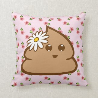 Cute Lil Poo Pillow