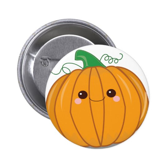 Cute Lil Pumpkin Button