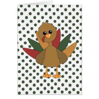 Cute Lil' Turkey Card