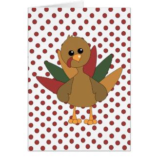 Cute Lil' Turkey Cards