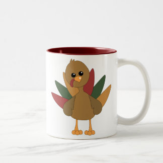 Cute Lil' Turkey Mugs
