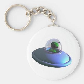 Cute Lil UFO Keychain