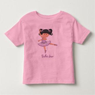 Cute lilac Ballerina 1 Ballet Star Toddler T-shirt