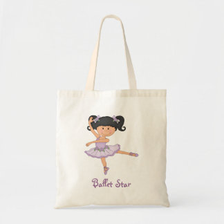 Cute Lilac Ballerina 1 Ballet Star Tote Bag