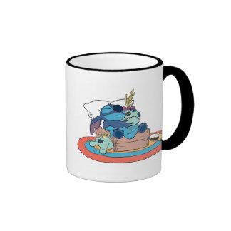 Cute Lilo & Stitch Stitch Sleeping Coffee Mug