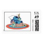 Cute Lilo & Stitch Stitch Sleeping Postage Stamp