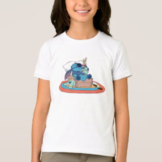 Cute Lilo & Stitch Stitch Sleeping T-Shirt