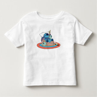 Cute Lilo & Stitch Stitch Sleeping Toddler T-shirt