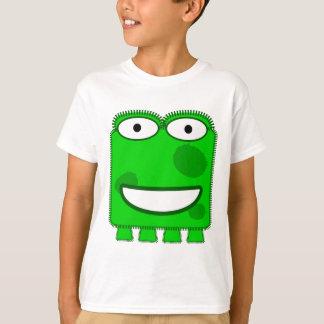 Cute Lime Green Cartoon Monster T-Shirt