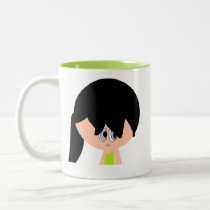 Cute Lime Green Mugs for Girls