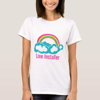 Cute Line Installer T-Shirt