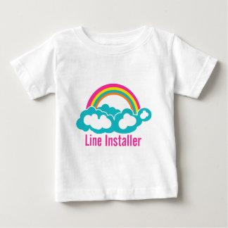 Cute Line Installer Tee Shirts
