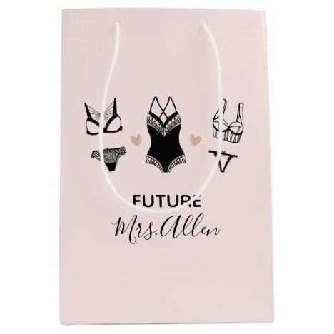 Cute Lingerie Bridal Shower Gift Bag