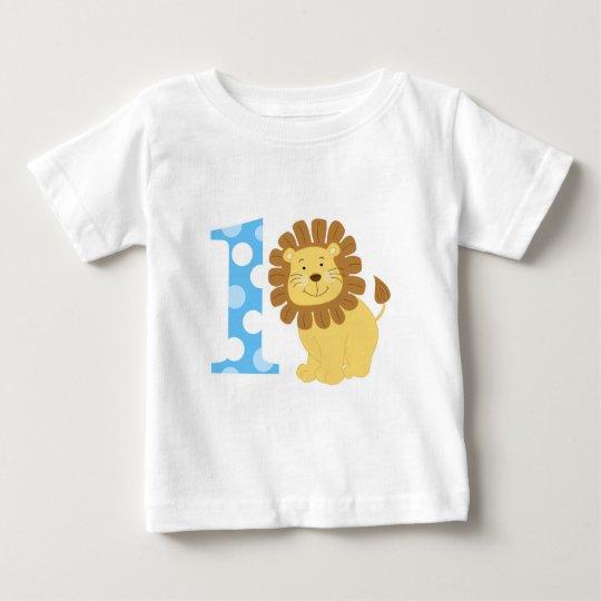 Cute Lion 1st Birthday I'm ONE T-Shirt
