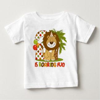 Cute Lion 2nd Birthday Baby T-Shirt