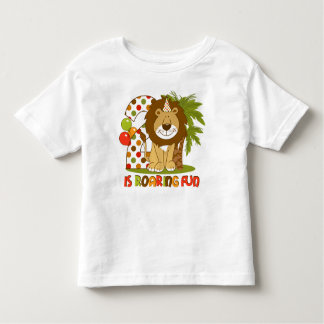 Cute Lion 2nd Birthday Toddler T-shirt