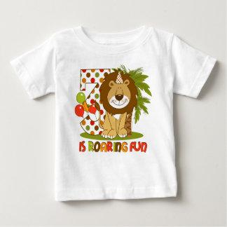 Cute Lion 3rd Birthday Baby T-Shirt