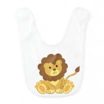 Cute Lion Baby Bib