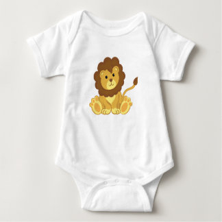 Cute Lion Baby Clothing T-shirt