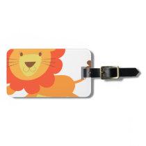 cute lion bag tag