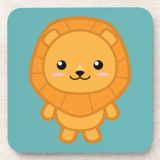 Cute Lion Beverage Coaster