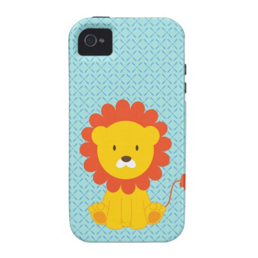 Cute Lion Case-Mate iPhone 4 Covers