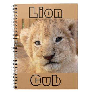 Cute Lion Cub Note Book