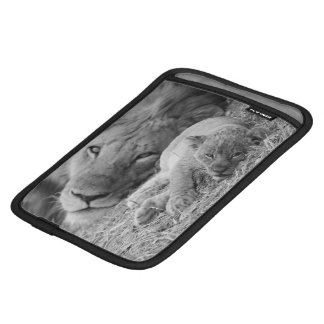 Cute Lion Cub Resting With Father Sleeve For iPad Mini
