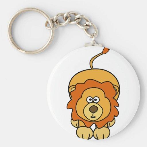 Cute Lion Design Key Chain