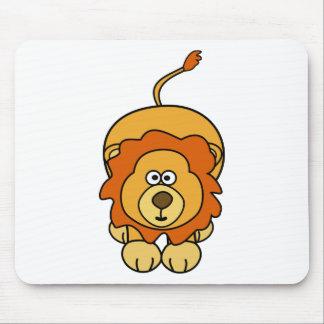 Cute Lion Design Mouse Pad