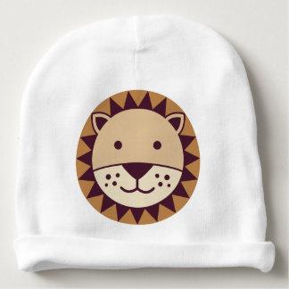 Cute Lion Face Baby Beanie