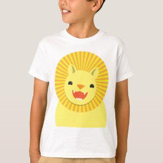 cute lion face smiling wonderful! T-Shirt