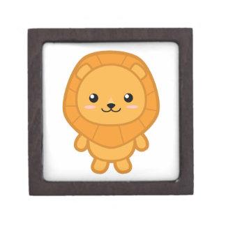 Cute Lion Gift Box