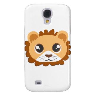 Cute Lion Head Cartoon Samsung S4 Case