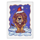 Cute Lion Holiday Greeting Cards